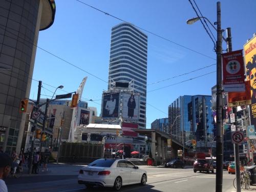 Toronto's Yonge-Dundas Square.