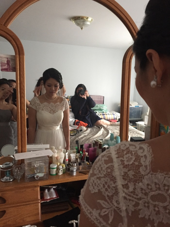 Getting ready for the big day. (June 20, 2015)
